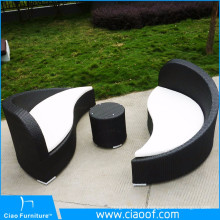 Hot Selling Leisure Yin Yang Rattan Furniture
