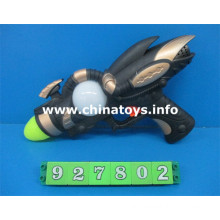 Hot Selling New Plastic Toys B/O Sound Gun (927802)