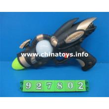 Venda quente nova plastic toys b / o som gun (927802)