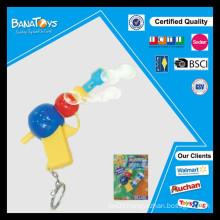 New design kid plastic toy soap bubble gun