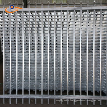 Cheap Grill Design Model Steel Fence Wrought Iron Fence for Sale