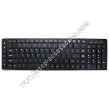 Schlanke Tastatur