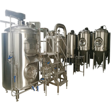 3 Vessel Brewhouse 500L Craft bierbrouwuitrusting
