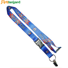 Economical Customized Dyed Sublimation Lanyard