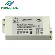 54W 12V 4500mA DC Salida Led Drivers Transformador