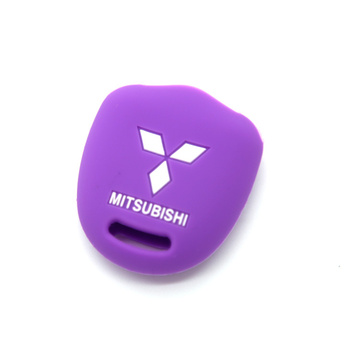 New design car key silicone cover for Mitsubishi