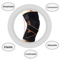 Spring Strip Knee Sleeve For Sports