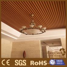 Panel de pared de madera del techo del PVC compuesto de madera interior compuesto del proveedor de Foshan con buen precio