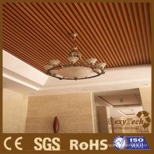 Foshan Fournisseur Intérieur Plastique Bois Plastique PVC Panneau de Plafond avec Bon Prix