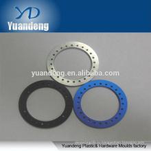 OEM Custom CNC анодированный алюминий круглые шайбы красный оранжевый черный синий и т.д.