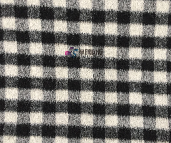 100 Wool Plaid Fabric