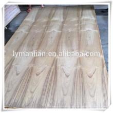 Madera dura de la madera dura de 4 * 8 de la madera contrachapada de la teca en la ciudad de linyi