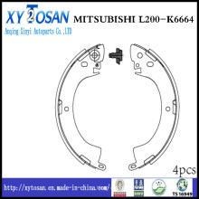 Auto Brake Shoe for Mitsubishi L200 K6664