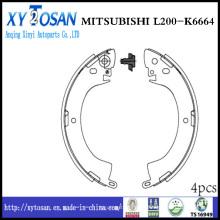Auto sapato de freio para Mitsubishi L200 K6664