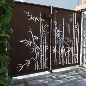 Custom Laser Cut Metal Gates China Manufacturer