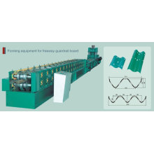 Automatique PLC Freeway Guardrail Roll Forming Machine