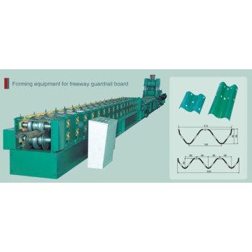 Automatic PLC Freeway Guardrail Roll Forming Machine