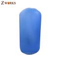 Cartón embalaje espesor personalizado PVC material gimnasia barril de aire