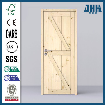 JHK 2 Panel Groove Barn Door