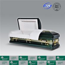 Luxes Style américain 18ga cercueil métallique cercueil Chine fabrique