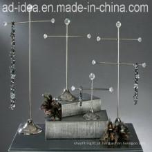 Suporte de exposição simples da jóia / cremalheira de exposição da joia / exposição para a jóia