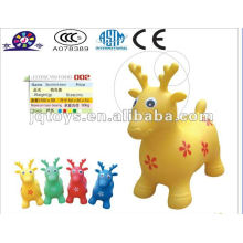 Inflatable animal toy ball spotted deer