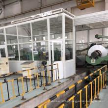 Proteção de soldagem isolação industrial tecido laminado de fibra de vidro folha de alumínio de 0,2 mm de espessura