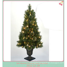PVC led christmas cone tree light