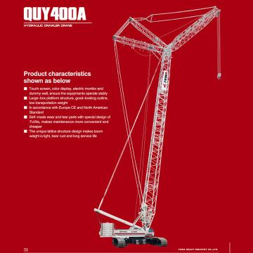 Hydraulic Crawler Crane with Cheap Price