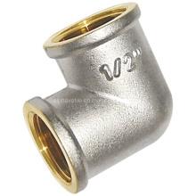 Никелированная резьбовая арматура - колено F / F (a. 0301)