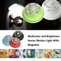 Wireless PIR Auto 6 LED ajustável do armário Night Sensor LED Light