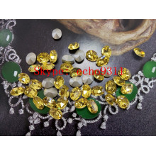 Light Topas Point Back Crystal Stones Fantastische Rhienstones für Großhandel