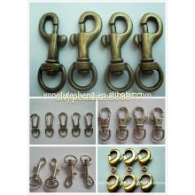 Schnapphakenlieferant, kundenspezifischer Karabinerhaken, Metallschnapphaken mit Schlüsselring