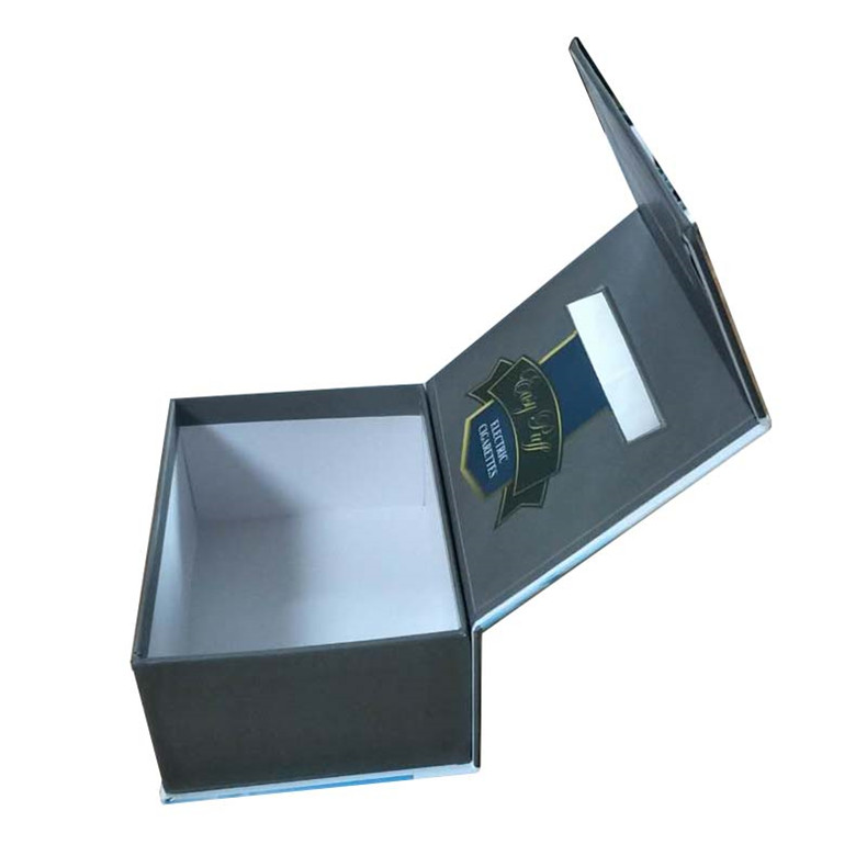 the electronic cigarette atomizer clamshell gift box