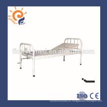 CE certificação ISO único metal médico cama