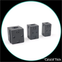 NiZn Metallmagnet Emi weicher Ferritkern für 3.5mm Netzkabel