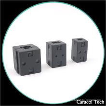 Núcleo de ferrita de Emi Soft del imán del metal de NiZn para el cable de transmisión de 3.5mm