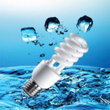 15Вт 18ВТ половина Спиральн энергосберегающий светильник с КЛЛ (BNFT2-УГ-Е)