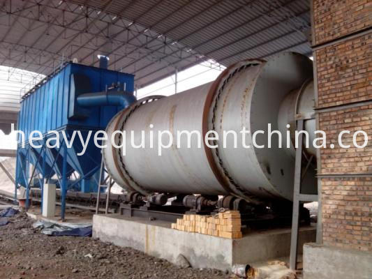 Triple Cylinder Rotary Dryer
