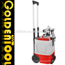 1200w Double Tube Trolley HVLP Floor Based Power Paint Sprayer Electric Metal Painting Gun