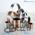 SF-1S Stainless steel bearing, SS304 Flanged Bearing Bushing, SS316 teflon coated self lubricating bearing