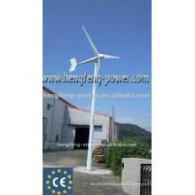 power supply by wind generator