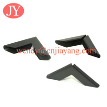 black color metal corner edge protector for book