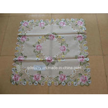 Pink Rose Design Polyester Table Covers St152