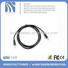 5ft 3.5mm macho macho estéreo Jack cable de audio para iPod MP3 DVD PC
