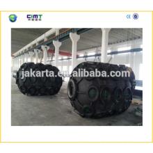 Fabricante suministra 1.5m * 3 guardabarros marinos de goma para barcos