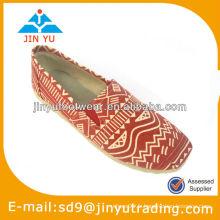Orange chaussures de dames