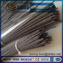 Alambre de tungsteno trenzado, alambres de tungsteno trenzados con precio competitivo