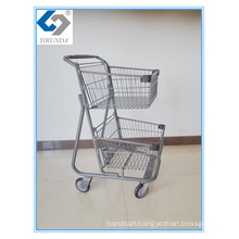 Two Basket Hand Shopping Trolley