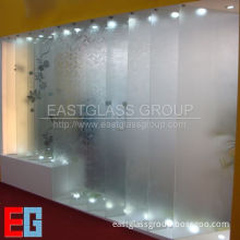 Acid Etched Pattened Glass